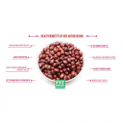 FYZ Herbs Red Bean Kacang Merah 500g [Bottle Pack] 红豆罐装 500g