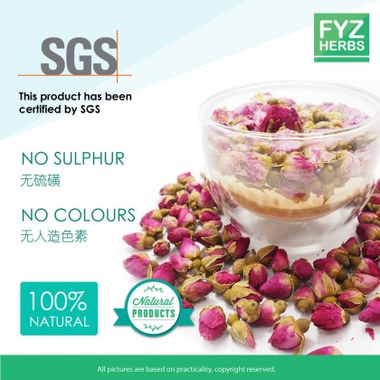 FYZ Herbs Rose Bud Flower Tea (80g) [Value Pack] 玫瑰花茶袋装