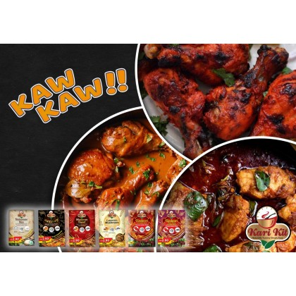 Kari Kit Seafood Instant Curry Paste 150g